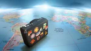 World Travel Suitcase