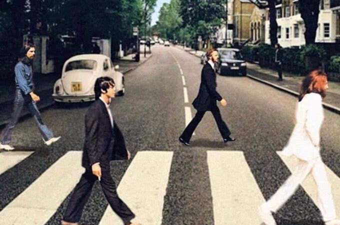 The Beatles - Abbey Road Social Distancing