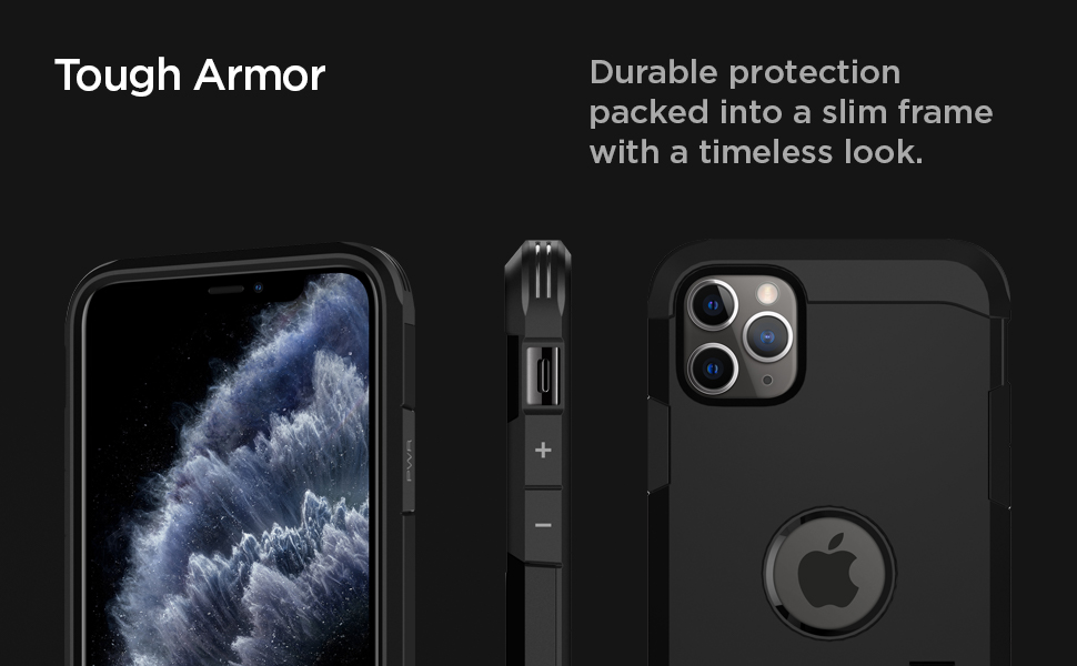Spigen Tough Armor Designed for Apple iPhone 11 Pro Case